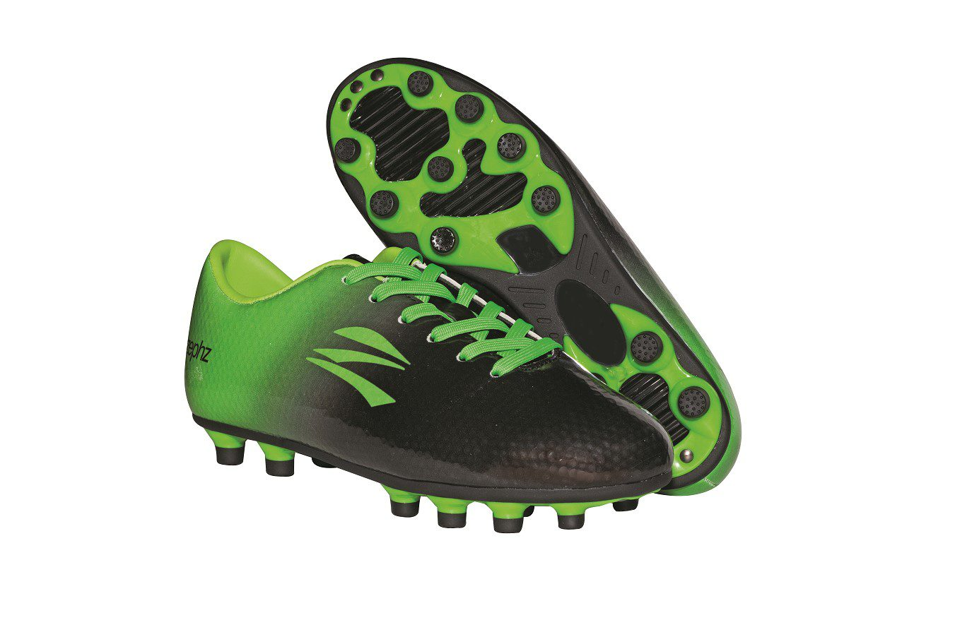 c56a87ad532 Wide Traxx Soccer Black Lime Green – Youth